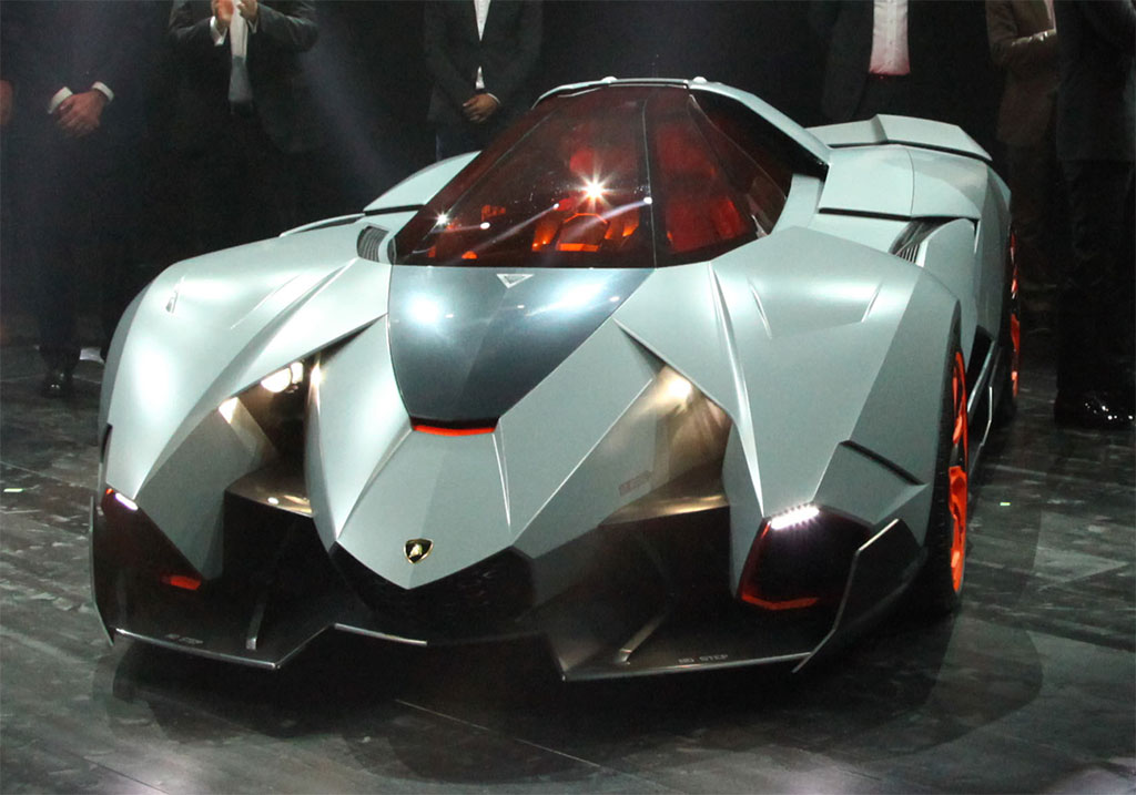 Concept Egoista Lamborghini Rear Would Look Like A