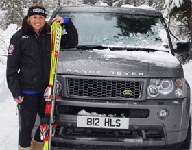 Land Rover Goes Skiing