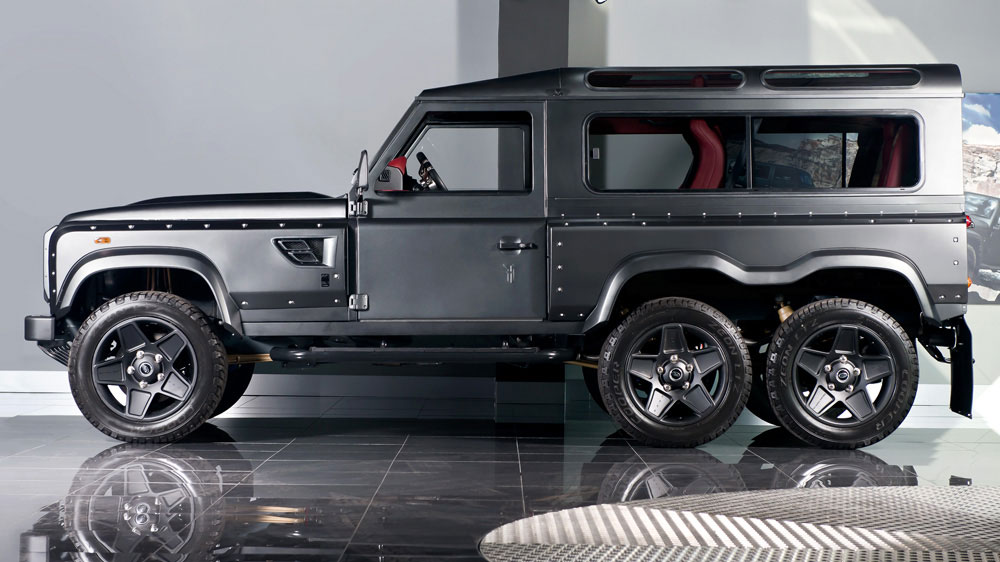 Kahn Land Rover Defender 6x6 Photo 2 14700