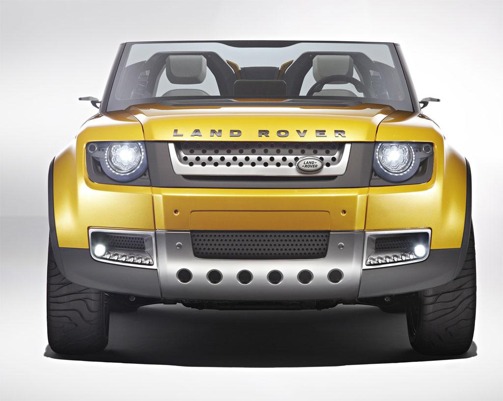 Tata motors jaguar land rover land rover dc100 pictures for Tata motors range rover