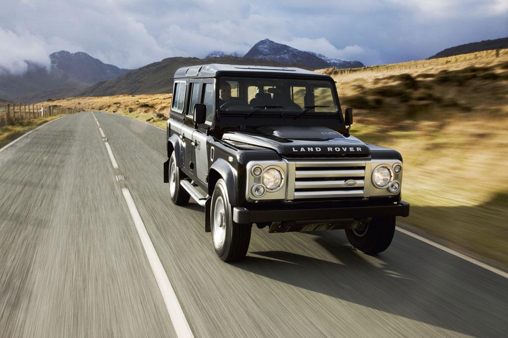 Land Rover Defender. Back to Land Rover Defender