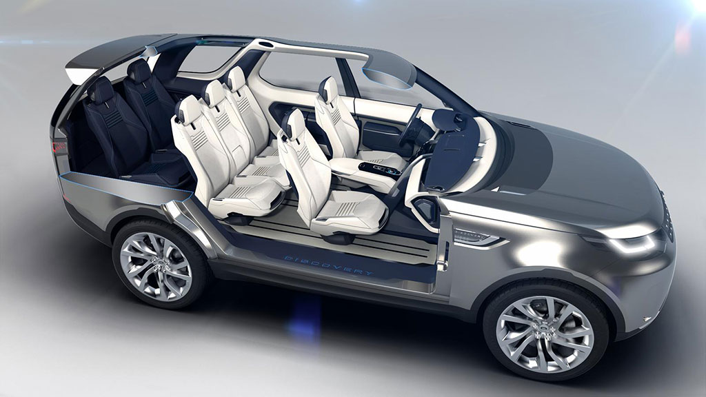 Land Rover Discovery Vision Concept Photo 16 13933