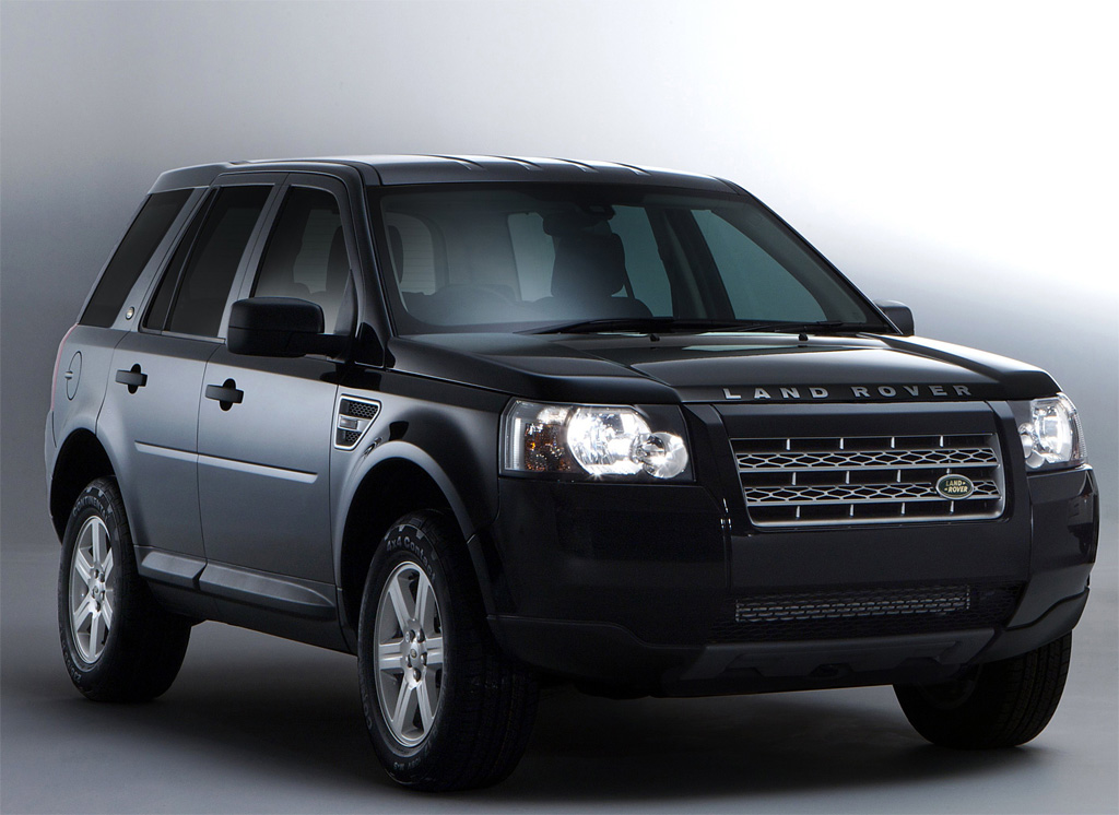 land rover freelander 2 white black photo 1 8216. Black Bedroom Furniture Sets. Home Design Ideas