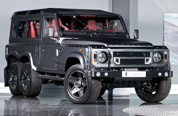 Kahn land rover defender flying huntsman 6x6 for Mercedes benz range rover price