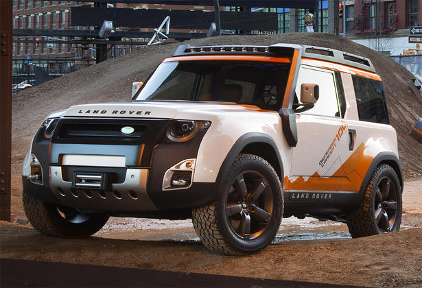 Land Rover DC100 Expedition 1 New model SUV Land Rover DC100 Expedition is the latest concept SUV of the British company