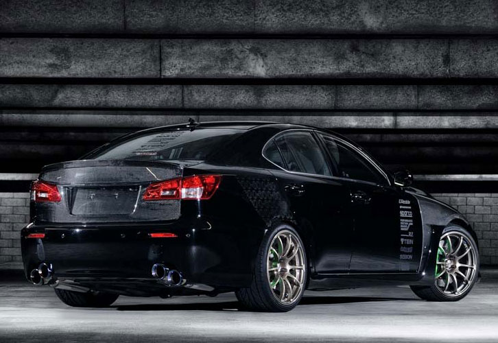 0 60 Magazine Lexus IS F