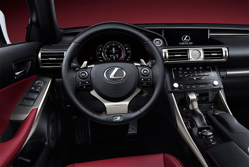 2014 Lexus IS 250, 350, 300h F Sport Photos - Image 3