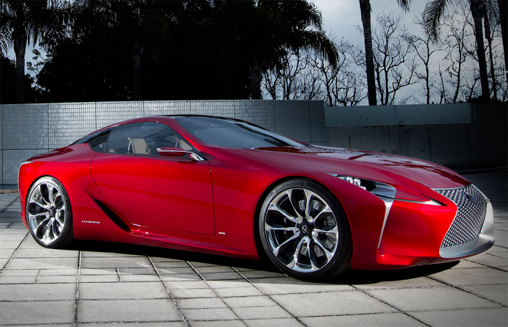 Lexus LF LC Concept Photo 17 12009