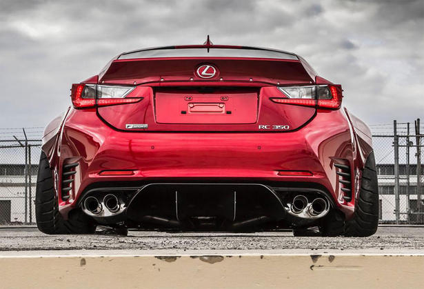 RC350 F Sport Body Kit by Gordon Ting and Beyond