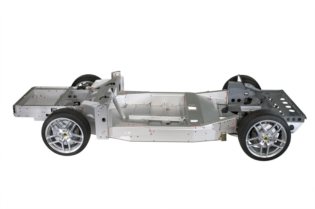 Lotus evora aluminum chassis photo 1 4317 for Chassis aluminium
