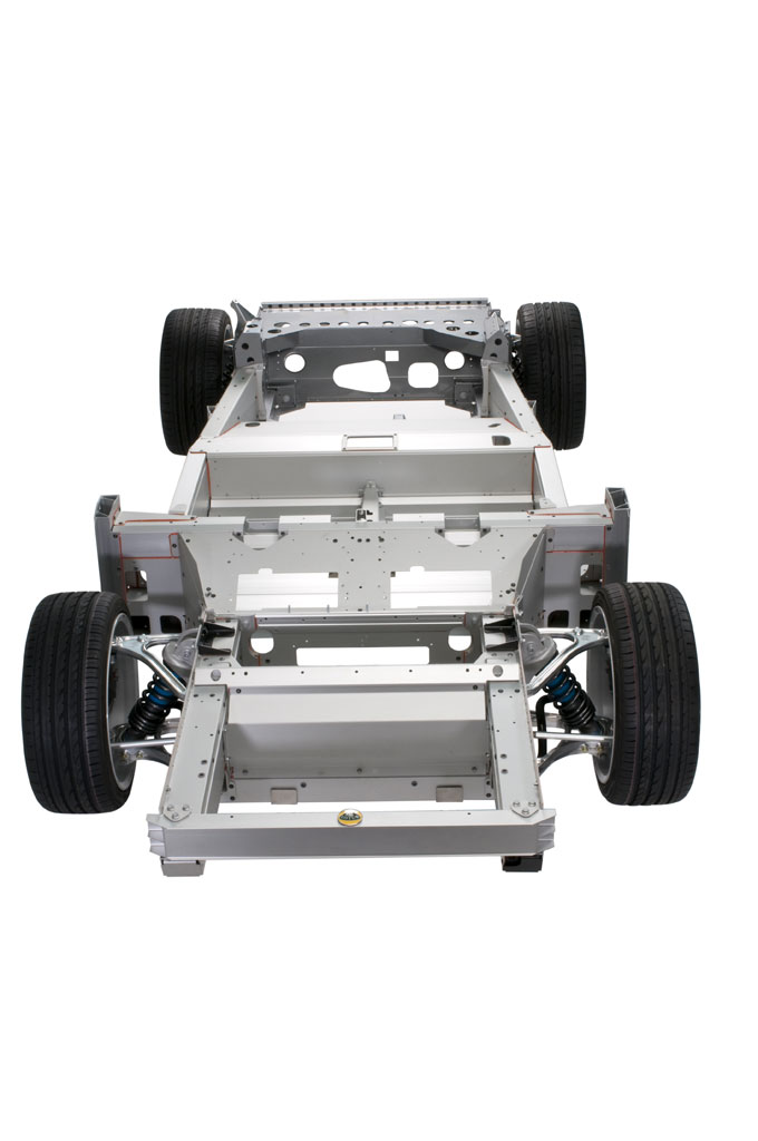 Lotus evora aluminum chassis photo 2 4317 for Chassis aluminium