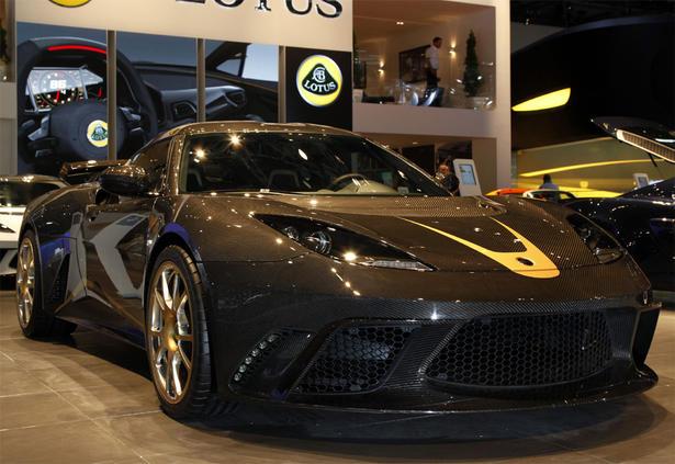 Lotus F1 Team Evora Gte