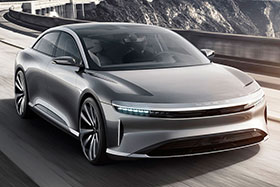 Lucid Air EV Revealed Photos