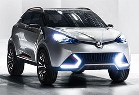 MG CS SUV Concept Photos