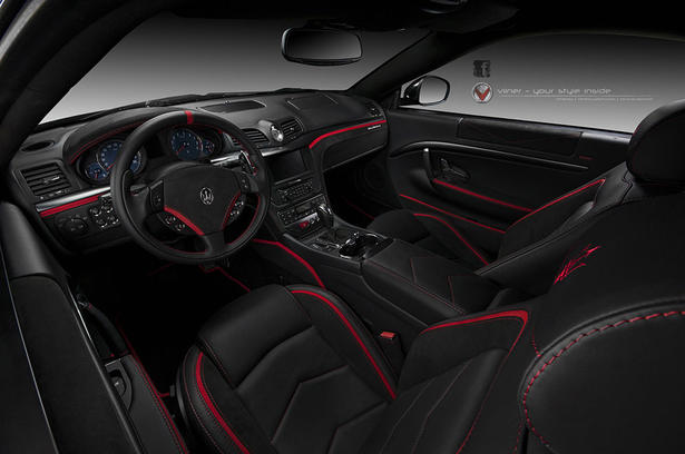 Maserati granturismo interior upgrades by vilner for Maserati granturismo s interieur