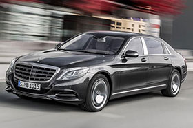 Maybach S Class by Mercedes Photos