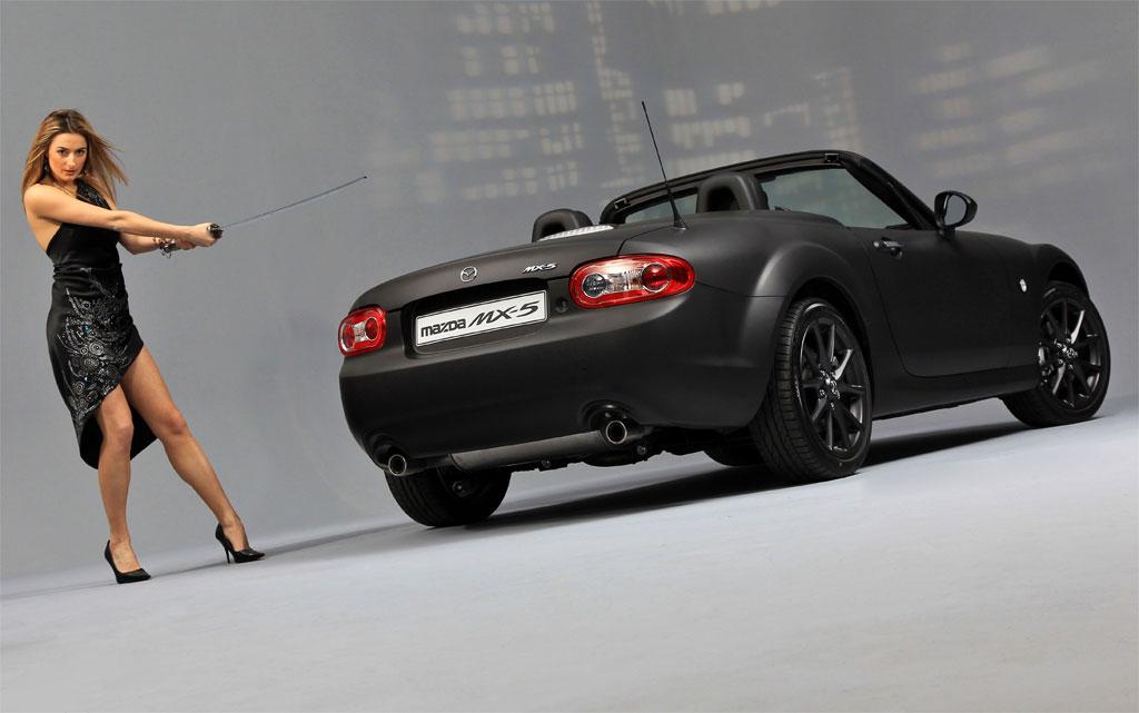 Mazda Mx5 Matte Black Photo 5 7775