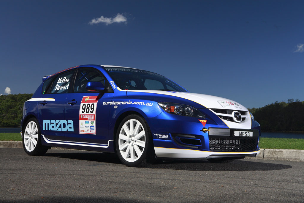 Mazda3 mps rally car photo 3 2884