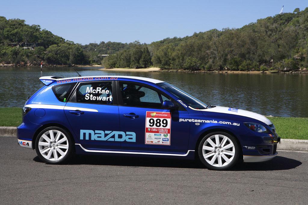 Mazda3 MPS rally car Photo 7 2884