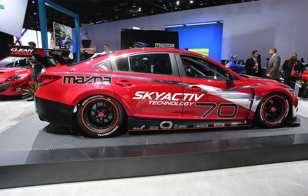 Mazda6 Skyactiv D Racecar Photo 3 12856