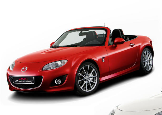 mazda mx5 20th anniversary price. Black Bedroom Furniture Sets. Home Design Ideas