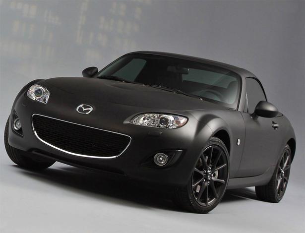 Mazda MX5 Matte Black