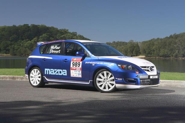 Mazda3 Mps Rally Car