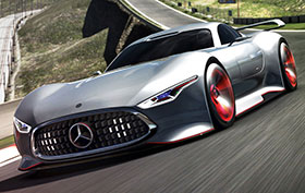Mercedes AMG Vision Gran Turismo Racing Series Photos