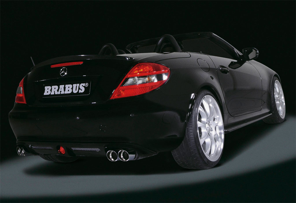 2008 brabus mercedes slk photo 3 2993 for Mercedes benz slk brabus price