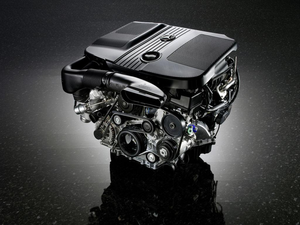 Mercedes 4 cylinder diesel engine