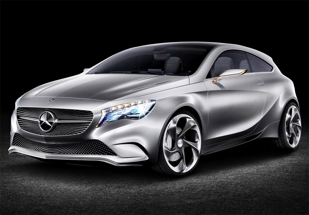 2012 Mercedes A Class Concept Photo 1 10872