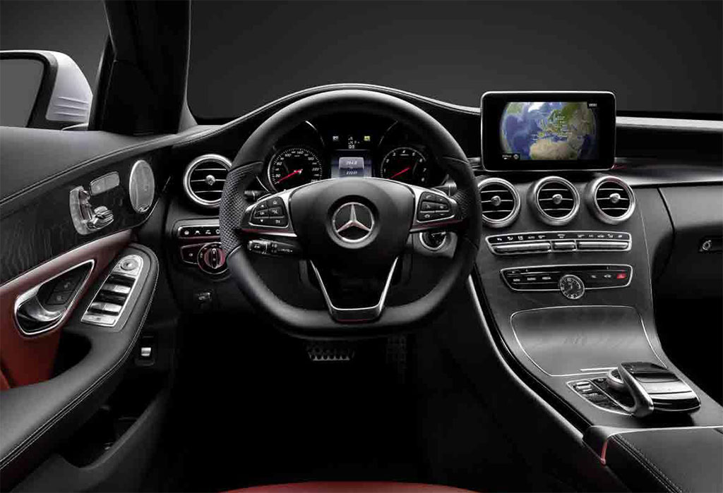 2014 mercedes c class interior photo 1 13439. Black Bedroom Furniture Sets. Home Design Ideas