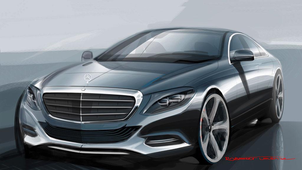 New 2014 S-Class Mercedes-Benz