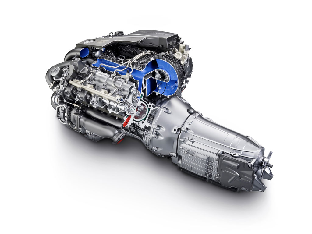 Amg 55 V8 Biturbo Engine Photo 28 7709