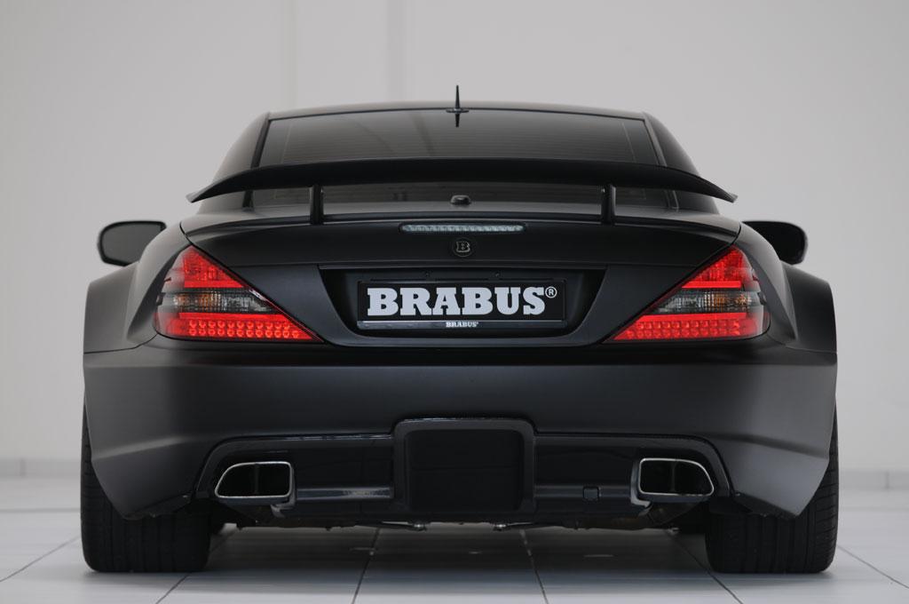 Brabus t65 rs mercedes sl65 amg black photo 9 8210