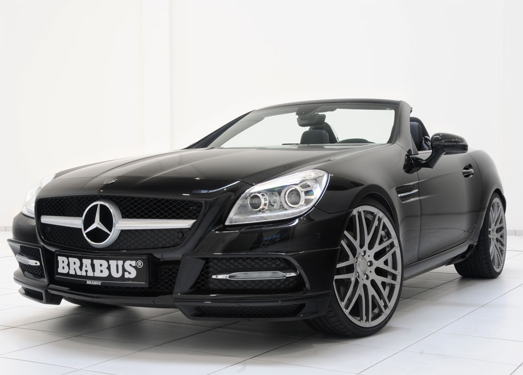 Brabus 2012 mercedes slk photo 1 11413 for Mercedes benz slk brabus price