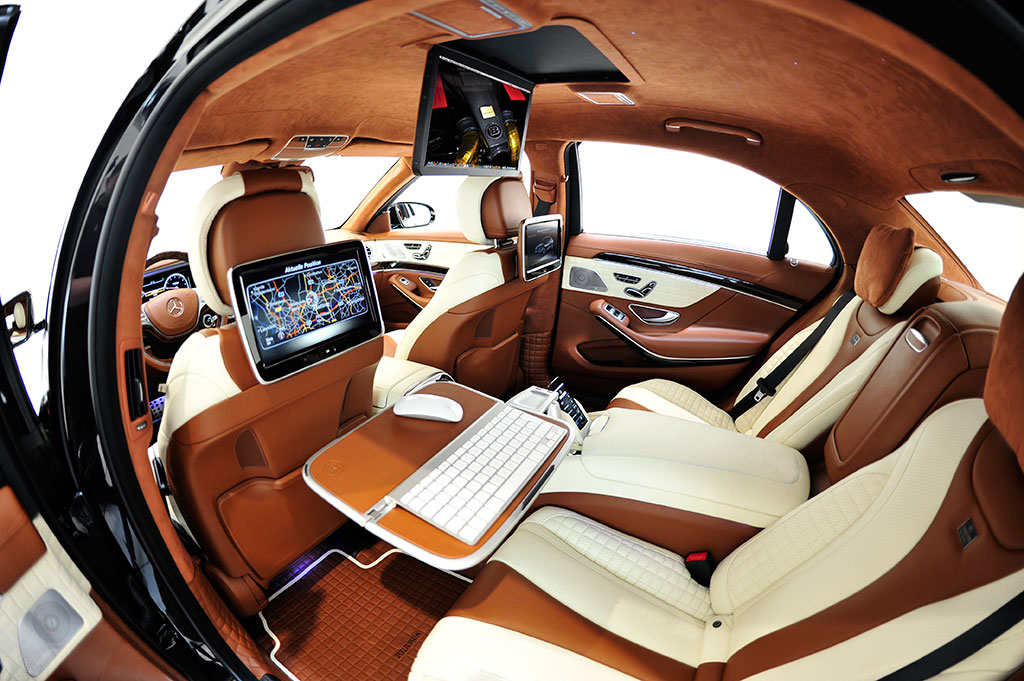 Brabus 2014 Mercedes S63 AMG Photo 3 13290