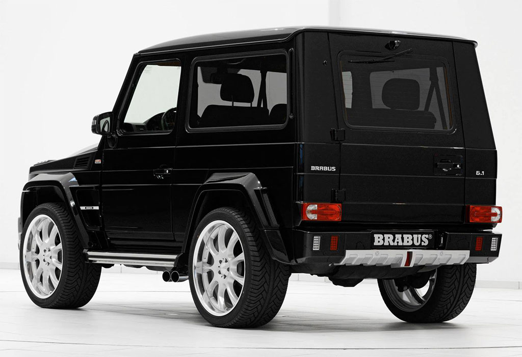 brabus mercedes g class photo 2 13793. Black Bedroom Furniture Sets. Home Design Ideas