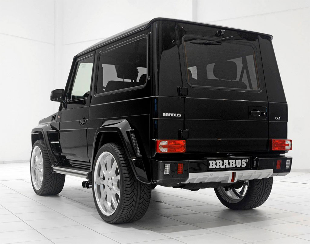 brabus mercedes g class photo 6 13793. Black Bedroom Furniture Sets. Home Design Ideas