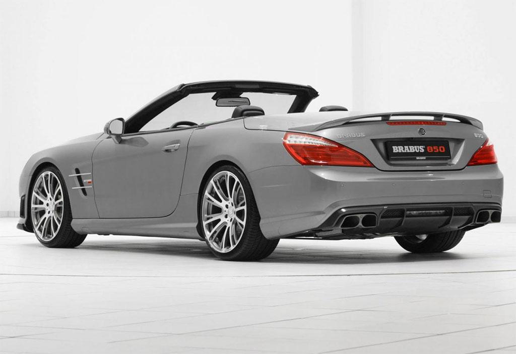 Brabus Mercedes Sl63 Amg Photo 2 13782