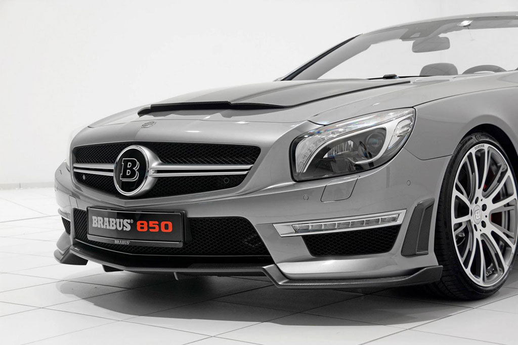 Brabus Mercedes Sl63 Amg Photo 21 13782