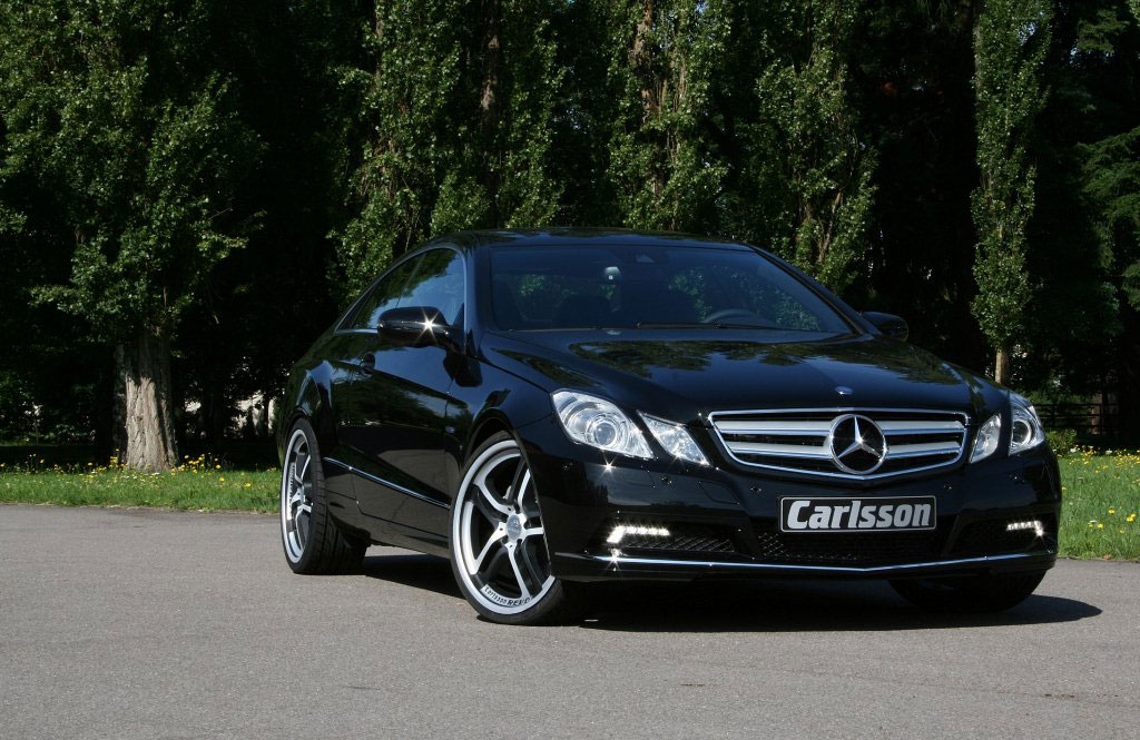 carlsson 2010 mercedes e class coupe photo 2 6482. Black Bedroom Furniture Sets. Home Design Ideas