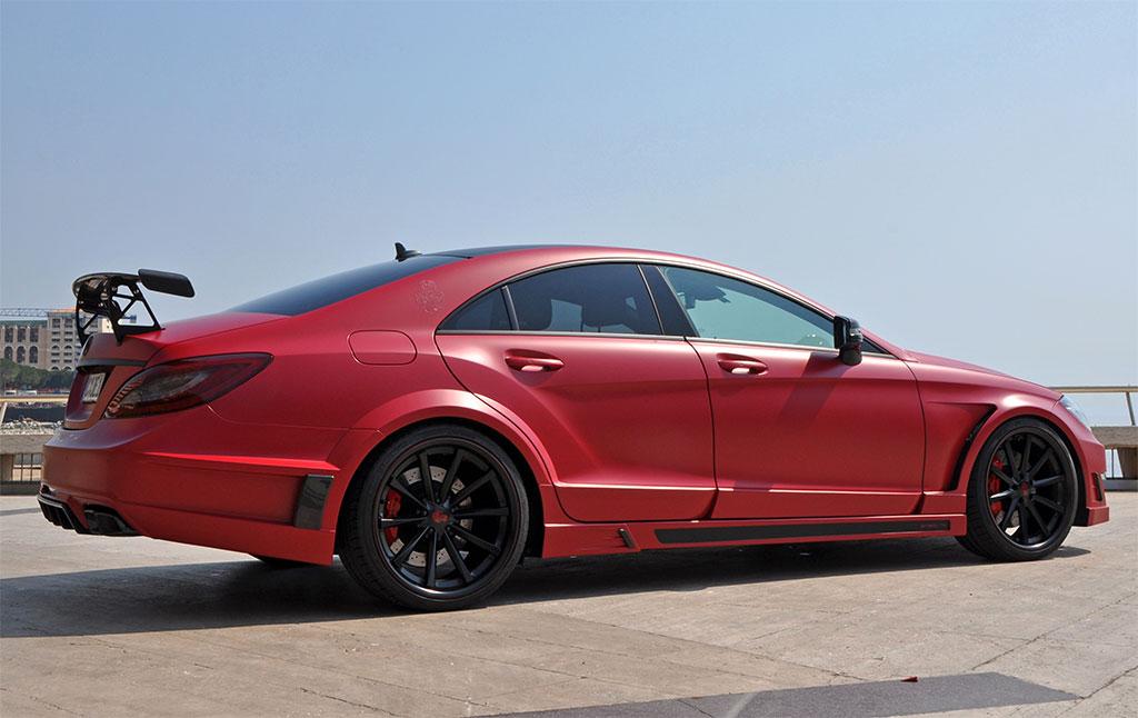 2012 Gsc Mercedes Benz Cls63 Amg Stealth Dark Cars