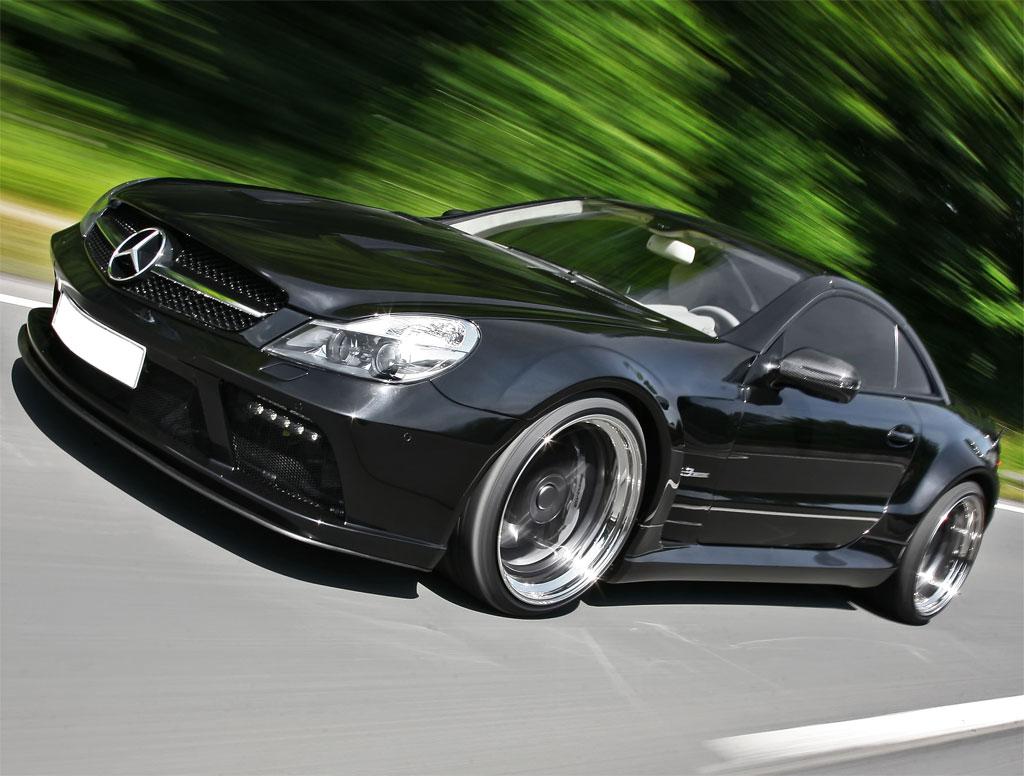 Inden Mercedes Sl63 Amg Black Saphire Photo 22 8851