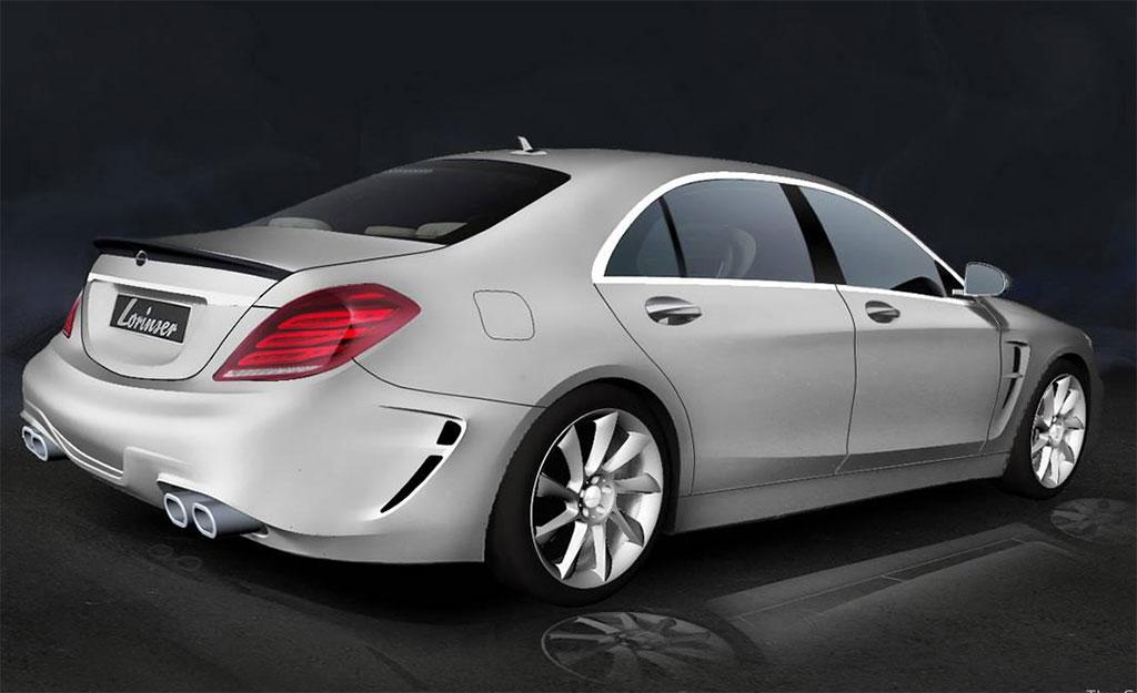Lorinser Mercedes S Class Widebody Photo 2 13420