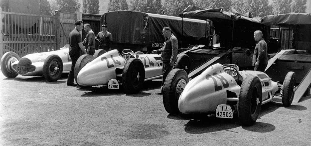 Mercedes 1930s Race Car Carrier Photo 6 6043