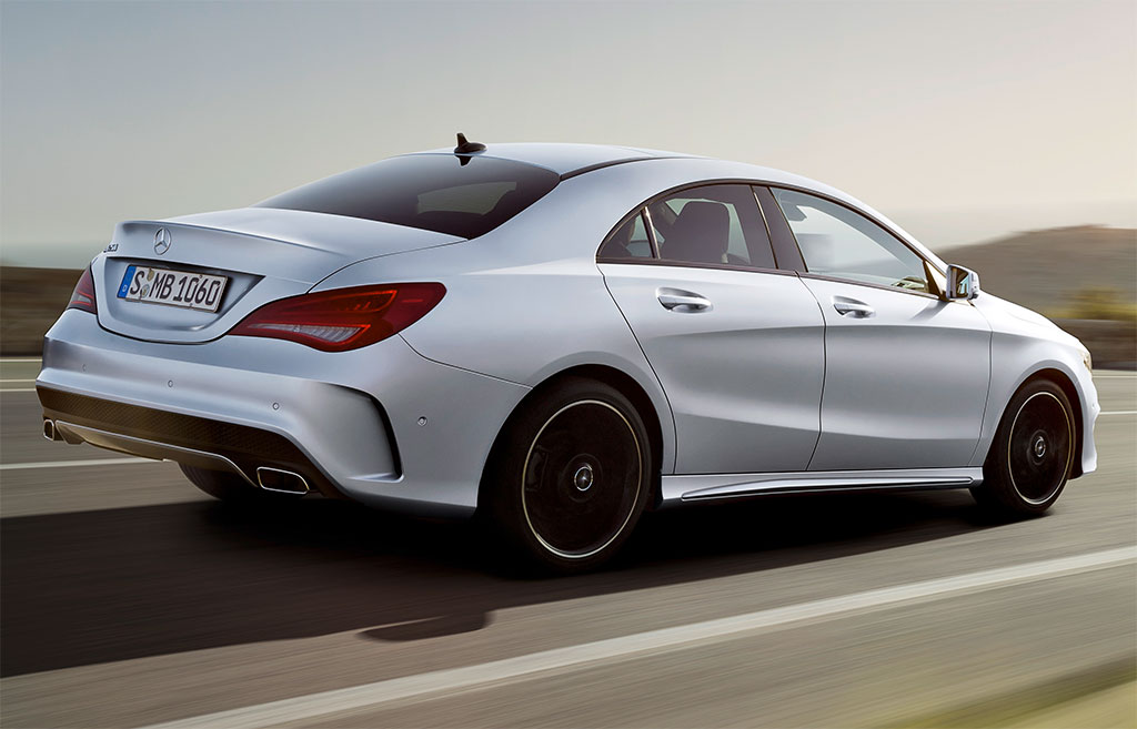 Mercedes-Benz CLA White