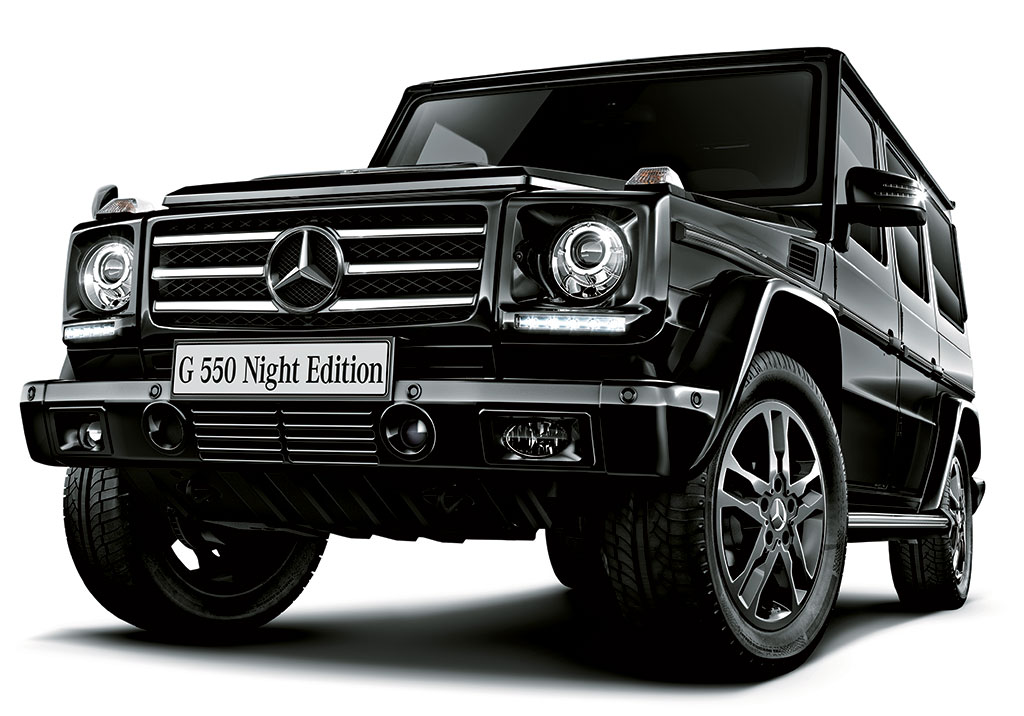 Mercedes g550 night edition photo 1 13108 for Mercedes benz g550 price