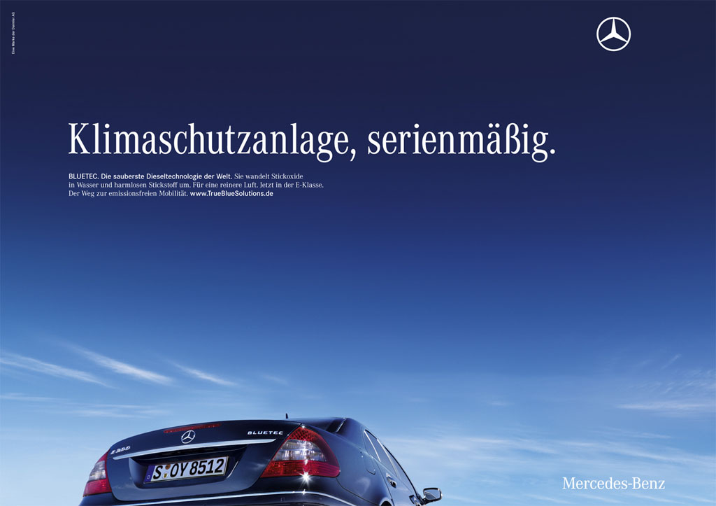 mercedes marketing campaign