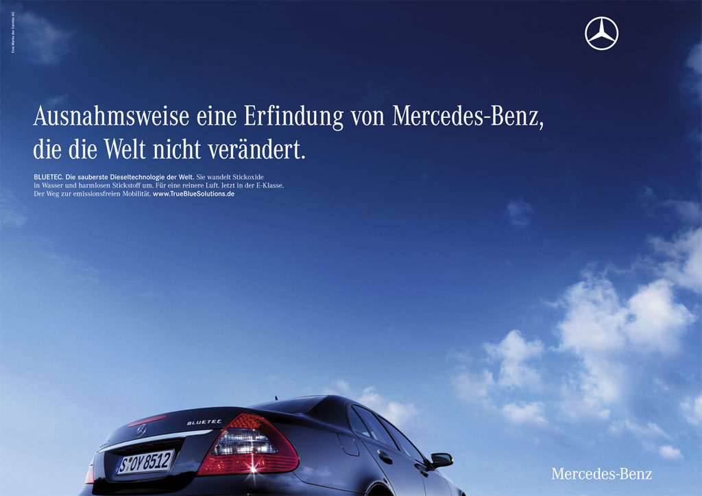 Mercedes marketing campaign for Mercedes benz marketing mix
